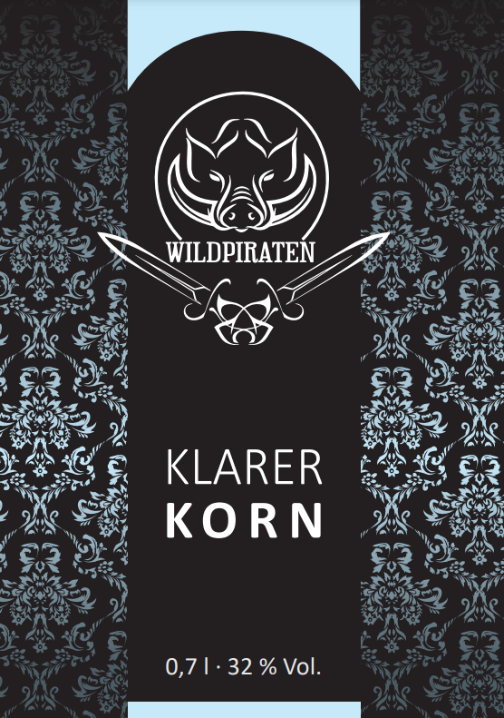 Wildpiraten KLARER KORN